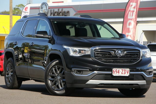 Demo Holden Acadia AC MY19 LTZ AWD, 2019 Holden Acadia AC MY19 LTZ AWD Mineral Black 9 Speed Sports Automatic Wagon
