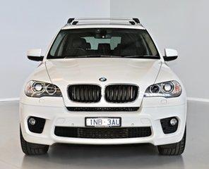 2013 BMW X5 E70 MY1112 xDrive30d Steptronic White 8 Speed Sports Automatic Wagon.