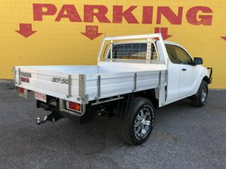 2013 Mazda BT-50 UP0YF1 XT Freestyle Silver 6 Speed Manual Cab Chassis