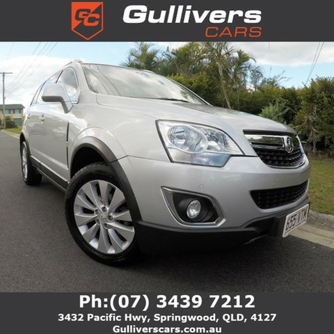 Used Holden Captiva  LT, 2015 Holden Captiva LT Silver 5 Speed Auto Active Select Wagon
