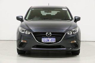 2015 Mazda 3 BM MY15 Neo Grey 6 Speed Automatic Hatchback.