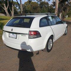 2014 Holden Commodore VF Evoke White Sports Automatic Wagon