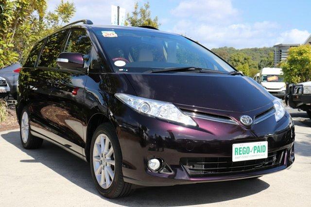 Used Toyota Tarago GSR50R MY13 GLX, 2015 Toyota Tarago GSR50R MY13 GLX Scarlet 6 speed Automatic Wagon