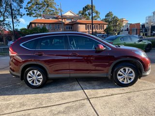 2013 Honda CR-V RM VTi-S 4WD Carnelian Red 5 Speed Automatic Wagon.