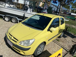 2006 Hyundai Getz TB Upgrade 1.6 Yellow 5 Speed Manual Hatchback.