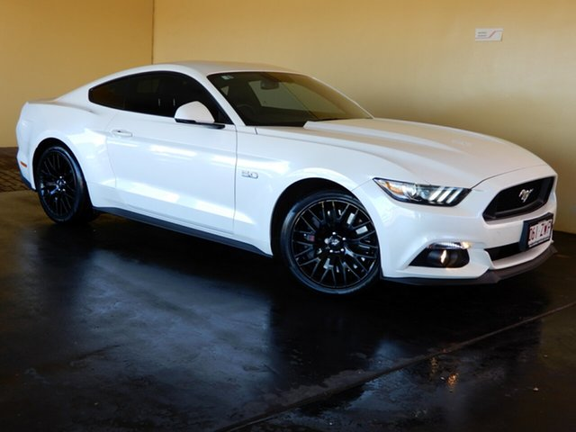 Used Ford Mustang FM MY17 Fastback GT 5.0 V8, 2017 Ford Mustang FM MY17 Fastback GT 5.0 V8 White 6 Speed Automatic Coupe