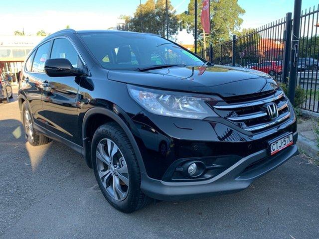Used Honda CR-V RM MY15 VTi-L 4WD, 2014 Honda CR-V RM MY15 VTi-L 4WD Black 5 Speed Sports Automatic Wagon