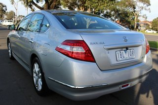 2011 Nissan Maxima J32 250 X-tronic ST-L Silver 6 Speed Constant Variable Sedan