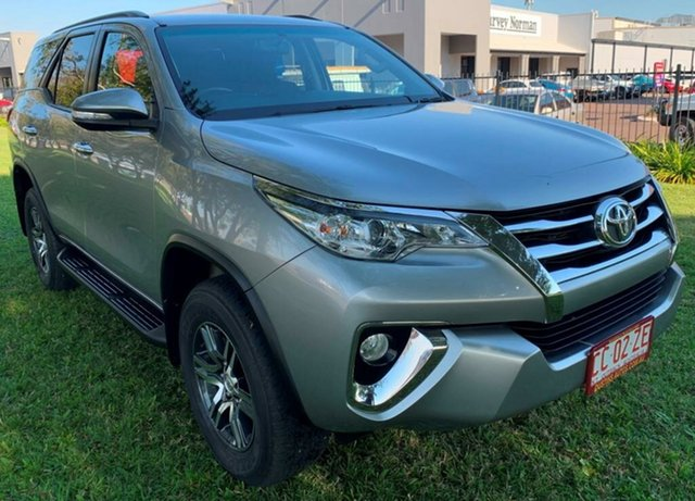 Used Toyota Fortuner GUN156R GXL, 2015 Toyota Fortuner GUN156R GXL Silver 6 Speed Automatic Wagon