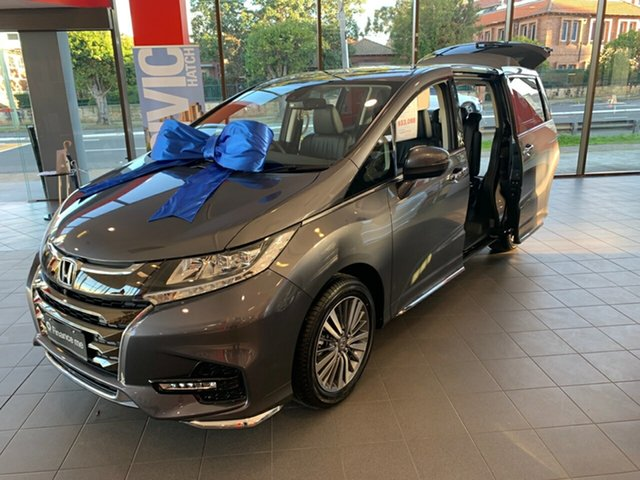 New Honda Odyssey RC MY20 VTi-L, 2020 Honda Odyssey RC MY20 VTi-L Modern Steel 7 Speed Constant Variable Wagon