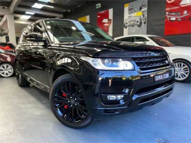 Used Land Rover Range Rover Sport L494 SDV8 HSE, 2014 Land Rover Range Rover Sport L494 SDV8 HSE Black Sports Automatic Wagon