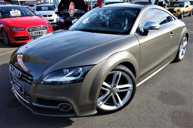 Used Audi TTS 8J MY11 S Tronic Quattro, 2010 Audi TTS 8J MY11 S Tronic Quattro Grey 6 Speed Sports Automatic Dual Clutch Coupe