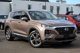 2019 Hyundai Santa Fe TM MY19 Highlander Tan Brown 8 Speed Sports Automatic Wagon.