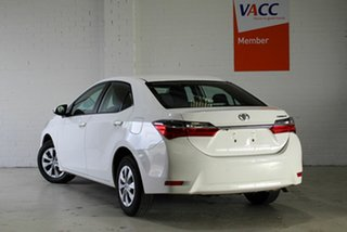2018 Toyota Corolla ZRE172R Ascent S-CVT White 7 Speed Constant Variable Sedan