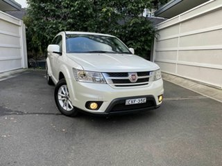 2015 Fiat Freemont JF MY15 Base White 6 Speed Automatic Wagon.
