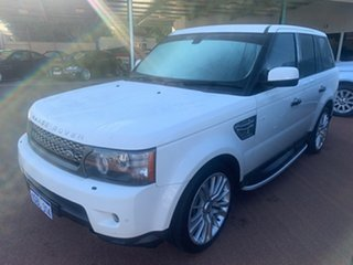 2009 Land Rover Range Rover MY10 Sport 3.6 TDV8 Luxury White 6 Speed Automatic Wagon