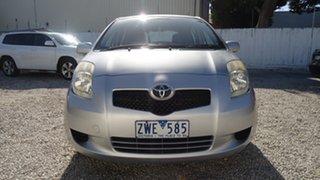 2008 Toyota Yaris NCP90R YR Silver 4 Speed Automatic Hatchback
