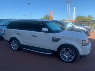 2009 Land Rover Range Rover MY10 Sport 3.6 TDV8 Luxury White 6 Speed Automatic Wagon.