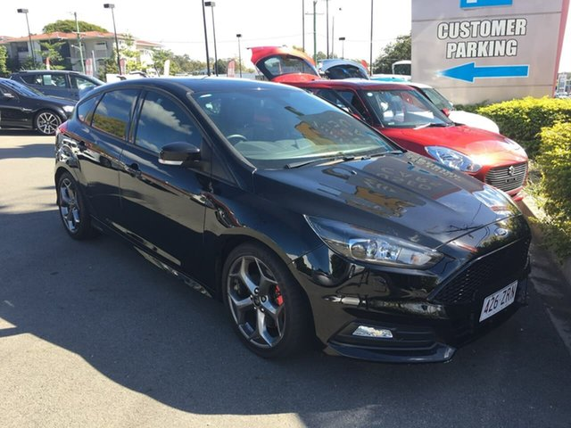 Used Ford Focus LZ ST, 2017 Ford Focus LZ ST Black 6 Speed Manual Hatchback
