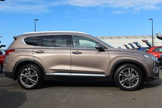 2019 Hyundai Santa Fe TM MY19 Highlander Tan Brown 8 Speed Sports Automatic Wagon