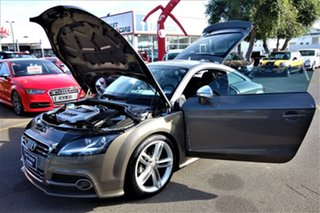 2010 Audi TTS 8J MY11 S Tronic Quattro Grey 6 Speed Sports Automatic Dual Clutch Coupe
