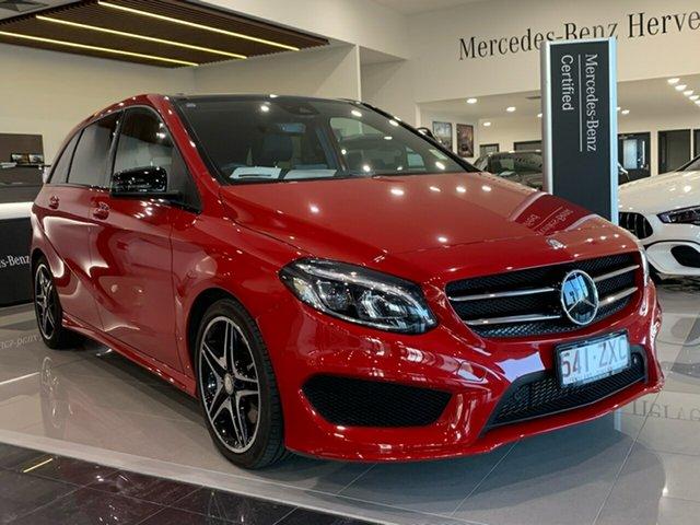 Used Mercedes-Benz B-Class W246 806MY B250 DCT 4MATIC, 2015 Mercedes-Benz B-Class W246 806MY B250 DCT 4MATIC Red 7 Speed Sports Automatic Dual Clutch