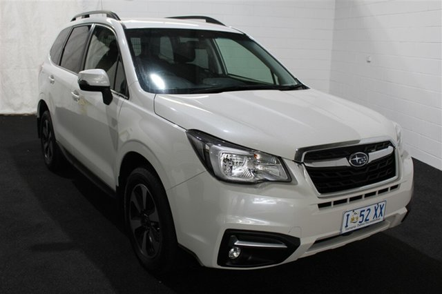 Used Subaru Forester S4 MY17 2.0D-L CVT AWD, 2017 Subaru Forester S4 MY17 2.0D-L CVT AWD White 7 Speed Constant Variable Wagon