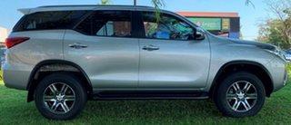 2015 Toyota Fortuner GUN156R GXL Silver 6 Speed Automatic Wagon.
