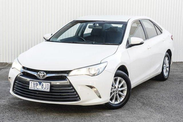 Used Toyota Camry ASV50R Altise Seaford, 2016 Toyota Camry ASV50R Altise White 6 Speed Sports Automatic Sedan