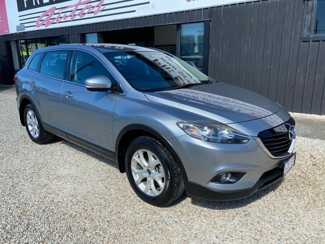 Used Mazda CX-9 MY13 Classic (FWD), 2012 Mazda CX-9 MY13 Classic (FWD) Silver 6 Speed Auto Activematic Wagon
