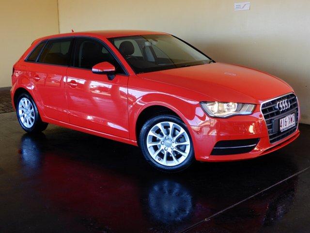 Used Audi A3 8V MY16 S/Back 1.4 TFSI Attraction CoD, 2016 Audi A3 8V MY16 S/Back 1.4 TFSI Attraction CoD Red 7 Speed Auto Direct Shift Hatchback
