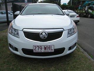 2013 Holden Cruze JH MY13 CD Equipe White 5 Speed Manual Hatchback.