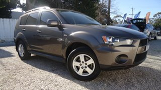 2011 Mitsubishi Outlander ZH MY11 LS Brown 6 Speed Constant Variable Wagon.