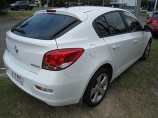 2013 Holden Cruze JH MY13 CD Equipe White 5 Speed Manual Hatchback