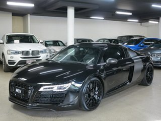 2015 Audi R8 MY15 S Tronic Quattro Mythos Black 7 Speed Sports Automatic Dual Clutch Coupe.