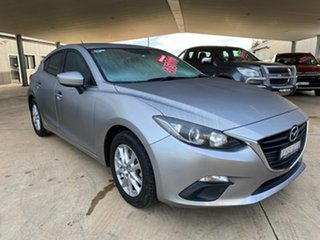 2014 Mazda 3 BM Maxx Grey 6 Speed Automatic Hatchback.