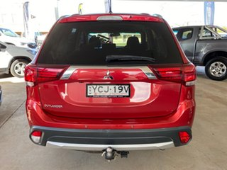 2015 Mitsubishi Outlander ZK MY16 LS (4x2) Red Continuous Variable Wagon