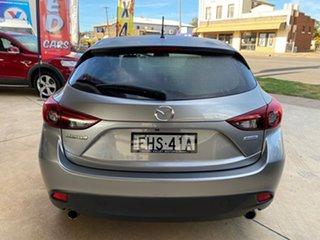2014 Mazda 3 BM Maxx Grey 6 Speed Automatic Hatchback