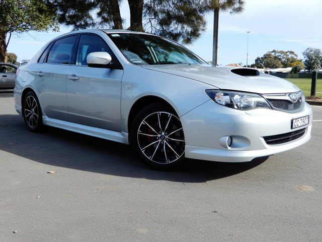 Used Subaru Impreza G3 MY10 WRX AWD, 2009 Subaru Impreza G3 MY10 WRX AWD Silver 5 Speed Manual Sedan