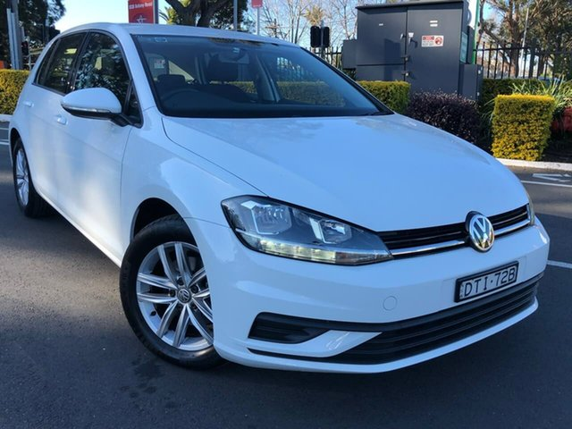 Used Volkswagen Golf 7.5 MY18 110TSI DSG, 2017 Volkswagen Golf 7.5 MY18 110TSI DSG White 7 Speed Sports Automatic Dual Clutch Hatchback