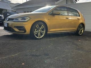 2017 Volkswagen Golf 7.5 MY17 110TSI DSG Highline Gold 7 Speed Sports Automatic Dual Clutch