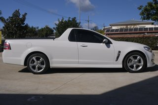 2015 Holden Ute VF MY15 SV6 Ute Heron White 6 Speed Sports Automatic Utility.