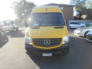 2015 Mercedes-Benz Sprinter 906 MY14 313CDI LWB Hi Roof Yellow 6 Speed Manual Van