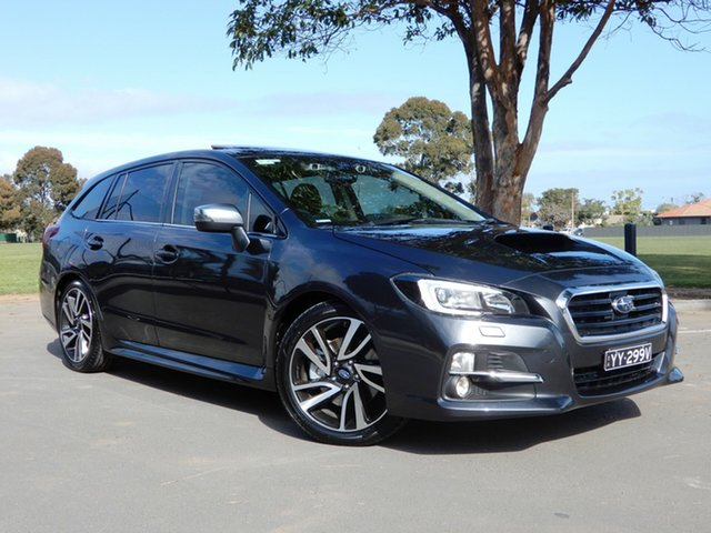Used Subaru Levorg V1 MY17 2.0 GT-S CVT AWD, 2016 Subaru Levorg V1 MY17 2.0 GT-S CVT AWD Grey 8 Speed Constant Variable Wagon