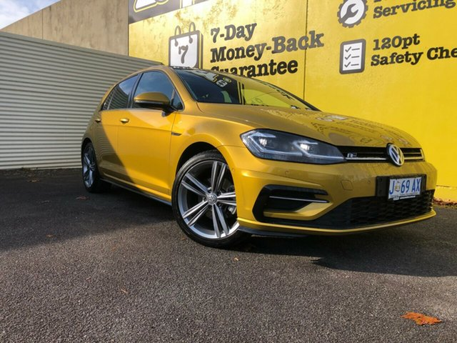 Used Volkswagen Golf 7.5 MY17 110TSI DSG Highline, 2017 Volkswagen Golf 7.5 MY17 110TSI DSG Highline Gold 7 Speed Sports Automatic Dual Clutch