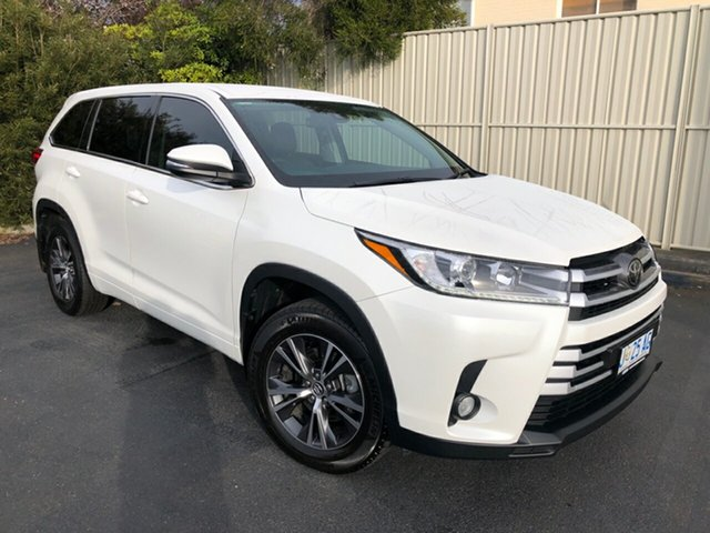 Used Toyota Kluger GSU55R GX AWD, 2018 Toyota Kluger GSU55R GX AWD Crystal Pearl 8 Speed Sports Automatic Wagon