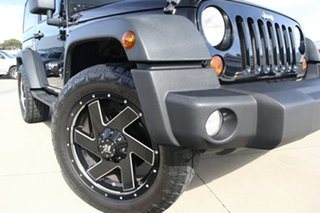 2011 Jeep Wrangler JK MY09 Sport (4x4) Black 6 Speed Manual Softtop.