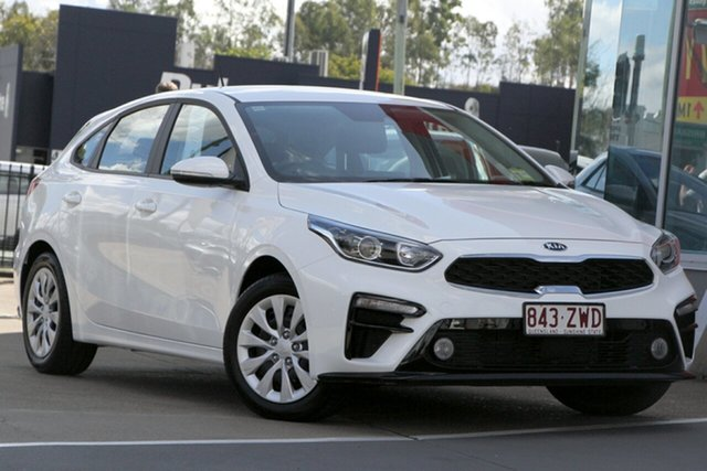 Used Kia Cerato BD MY20 S, 2020 Kia Cerato BD MY20 S Clear White 6 Speed Sports Automatic Hatchback