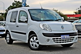 2012 Renault Kangoo F61 MY11 White 4 Speed Automatic Van.