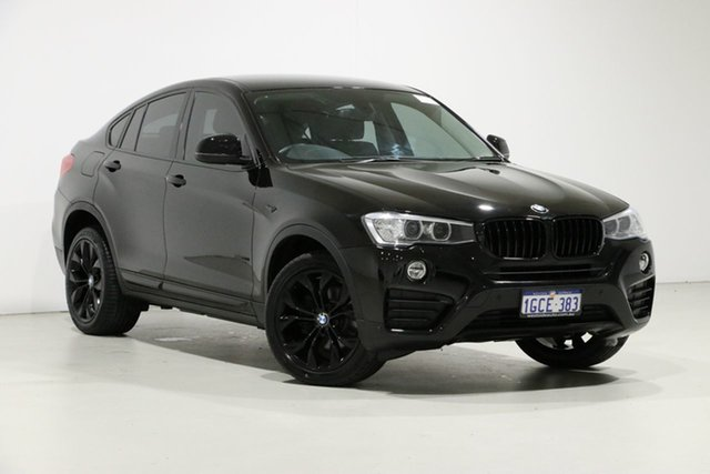 Used BMW X4 F26 MY16 xDrive 20I, 2016 BMW X4 F26 MY16 xDrive 20I Black 8 Speed Automatic Coupe